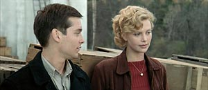 tobey maguire & charlize theron