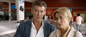 pierce brosnan & emma thompson